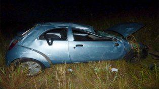 Diamante: Joven falleció tras despistar y volcar con su auto