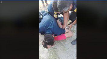 polemica en gualeguay por la detencion de un motociclista