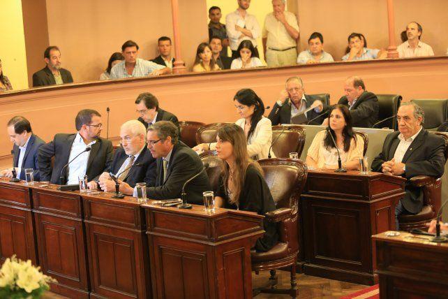 Incertidumbre. La oposición definirá al presidente del bloque horas antes de la sesión.