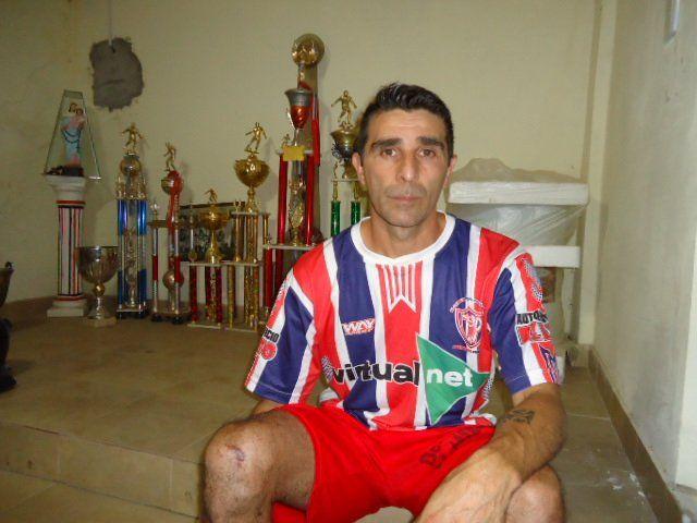 Experiencia. El delantero nacido en Paraná tiene un vasto recorrido en el fútbol y hoy asume otro desafío al firmar para Peñarol de Rosario del Tala