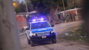 La policía ingresó a una de las villas más peligrosas de la ciudad. Foto UNO Archivo.