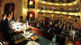 Bordet deja inaugurado el período de sesiones en la Legislatura provincial