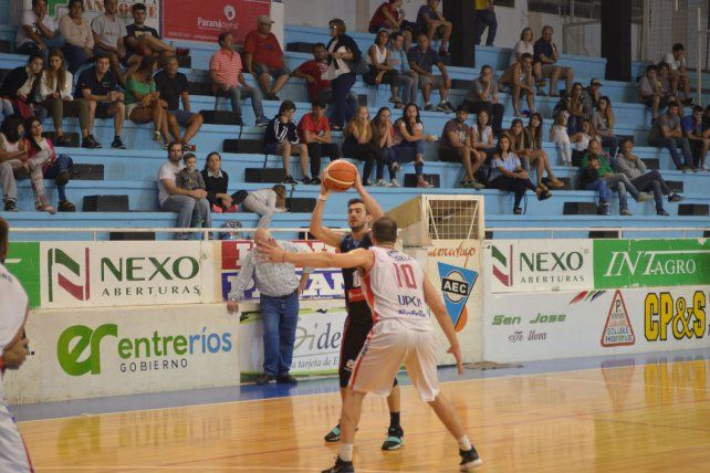 Dulce. El equipo de Paraná viene de ganar el primer juego de visitante.
