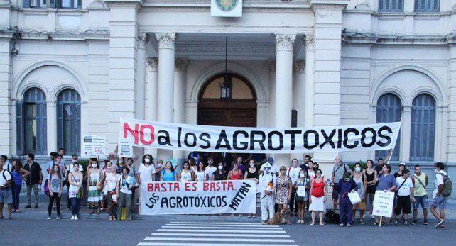 Foto gentileza Asamblea Paraná sin Agrotóxicos.