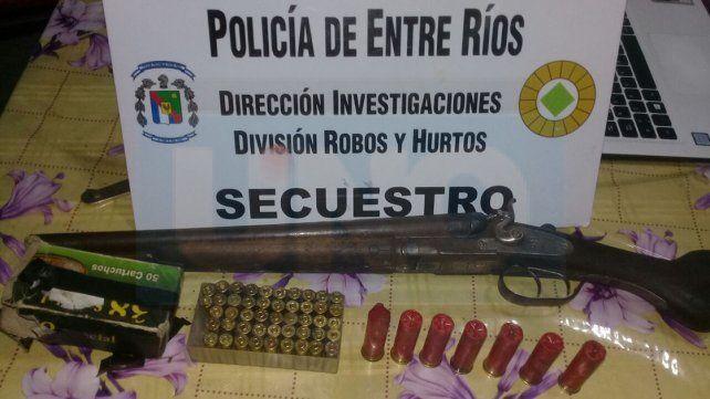 Paraná: Realizaron allanamientos y secuestraron armas de fuego y cartuchería