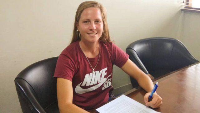 Florencia Senger estampó su firma y defenderá los colores de Bogotá FC