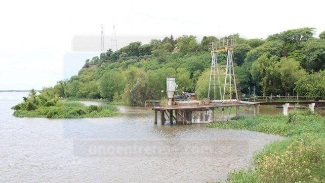 Varias zonas de Paraná afectadas por la merma en la producción de agua potable
