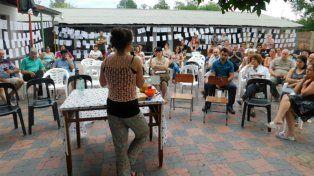 Tiempo atrás la escuela Nº 54 Carlos Sourigues de Barrio Perucho de San José fue escenario de un encuentro en defensa de la salud y la vida.