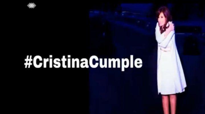 Los emotivos mensajes para Cristina Kirchner en las redes por su cumpleaños