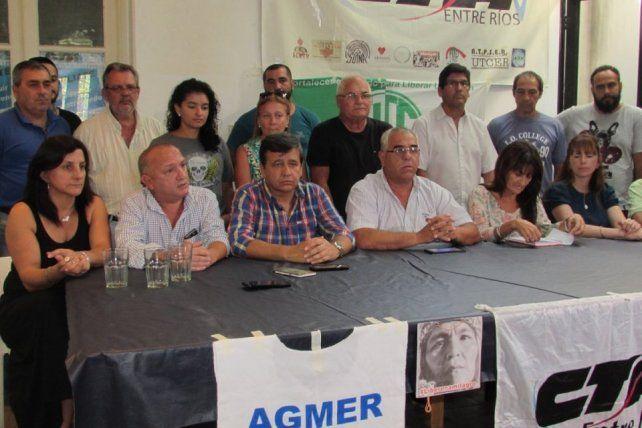 Desde Entre Ríos salen siete colectivos para la marcha de este miércoles