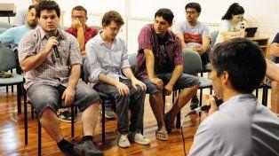 Los productores de Videos Juegos contaron la realidad del sector. Foto prensa Cultura.