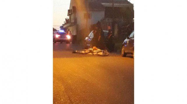 Murió un ciclista en calle Sosa Loyola de Paraná