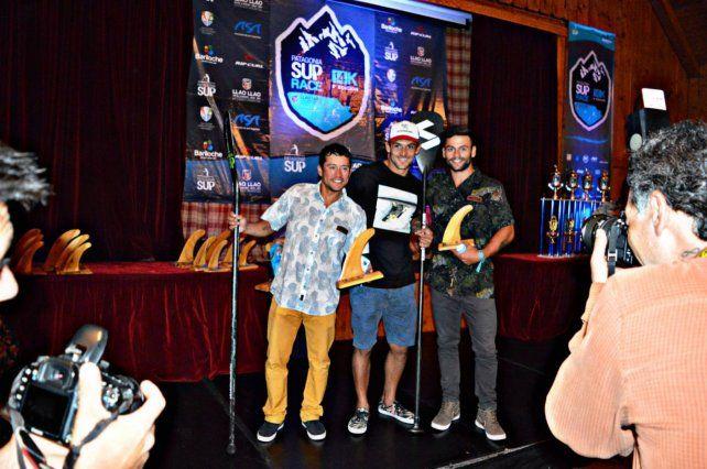 Premiación. El rider paranaense ganó en maratón y sprint