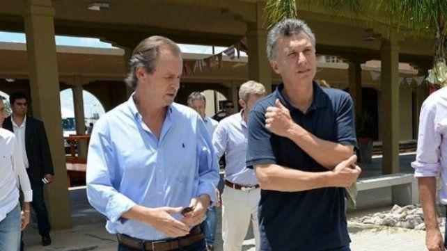 Juntos. El gobernador y el Presidente monitorearán los trabajos.