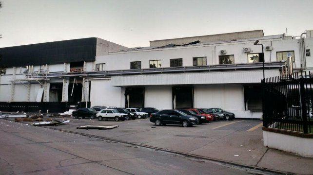 Tres obreros siguen internados en terapia intensiva por la explosión en un frigorífico en Crespo