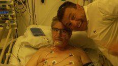 se recupera el paranaense que recibio un trasplante unipulmonar
