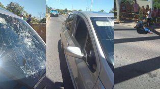 El dueño del auto subió las fotos a su cuenta de Facebook.