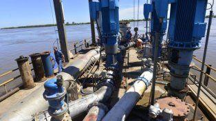 Concluyeron la reparación de la bomba en la toma de agua de Paraná