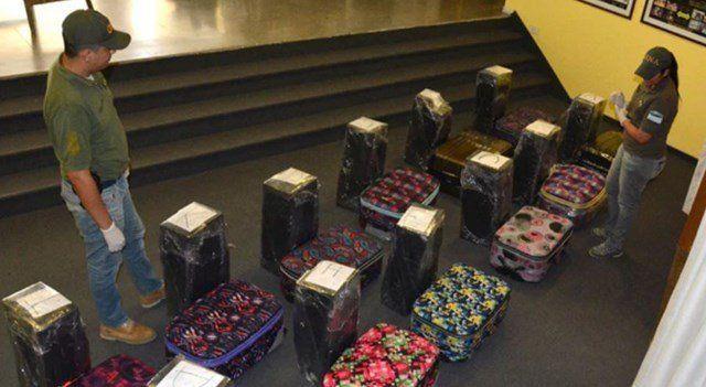 Encontraron 400 kilos de cocaína en la embajada Rusa en Argentina