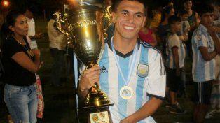 Andrés López uno de los entrerrianos que formó parte de la Selección Argentina de Amputados junto a Diego Pesoa
