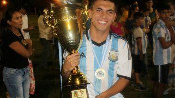 Andrés López uno de los entrerrianos que formó parte de la Selección Argentina de Amputados junto a Diego Pesoa, de Crespo.