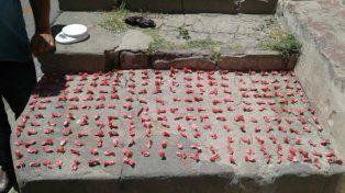 Secuestran más de 200 bochitas de cocaína para la venta