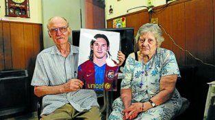 Murió el abuelo de Messi