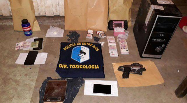Luego de ocho procedimientos por Narcotráfico se secuestraron drogas y se detuvo a dos personas