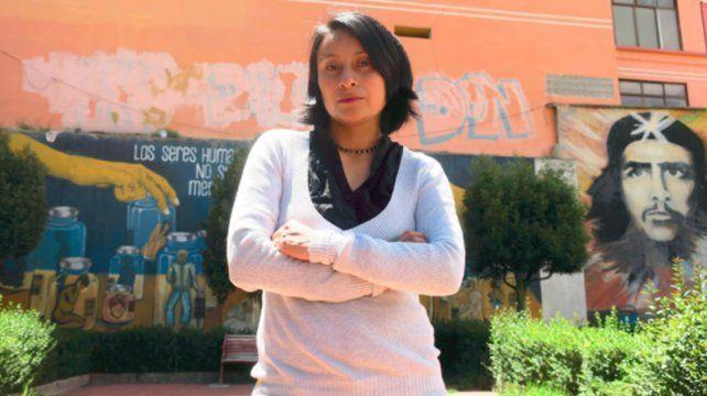 Rilda Paco Alvarado, autora de la obra.