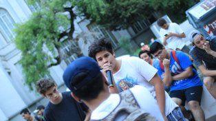 Concentración, hermano. FotoUNOJuan Ignacio Pereira.
