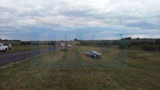 Un motociclista colisionó con un automóvil en ruta 18 y falleció