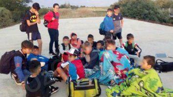 la delegacion misionera pasara la noche en villaguay y manana regresaran a su provincia