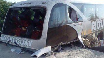 la empresa rio uruguay emitio un comunicado de prensa por la tragedia en villaguay