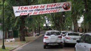 Paraná. Rolandelli confirmó que cuando esté concluido el informe catastral se notificará a la empresa para que detenga la obra.