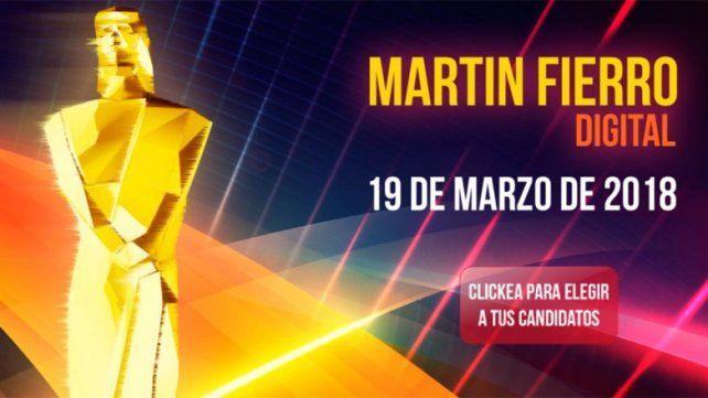 Martín Fierro Digital: conocé los candidatos que puede elegir la gente