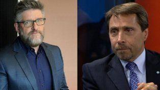 Turbulento debate entre Luis Novaresio y Eduardo Feinmann por el aborto durante el pase en la radio