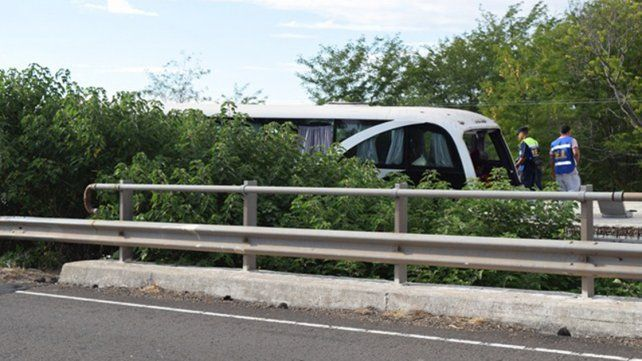 Tragedia de Villaguay: Testigo afirmó que el micro desvió directo al puente