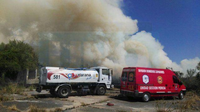 Controlaron el incendio en el exfrigorífico municipal de Paraná