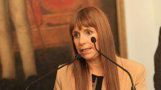 En contra. La ministra Velazquez no ocultó su malestar por la medida del gobierno de Maci.