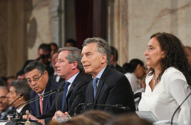 Macri: Queremos un Estado moderno, facilitador y transparente