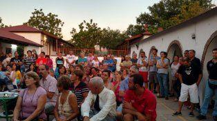 Puente: Vecinalista de la Toma Vieja le recordó al intendente su compromiso