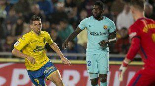 Calleri le complicó la Liga al Barcelona