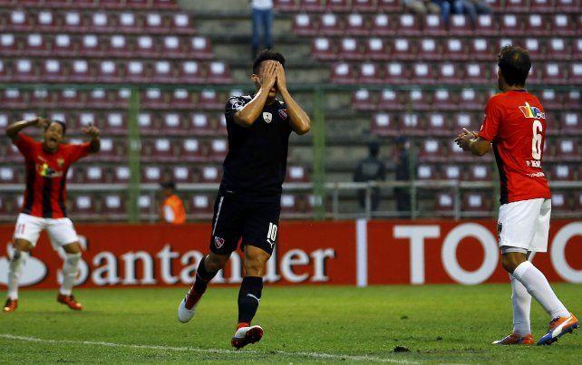 Independiente cayó en su debut en la Libertadores