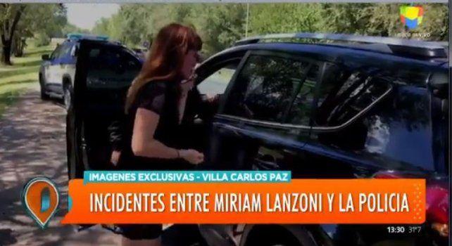 Escándalo policial en Córdoba con Miriam Lanzoni