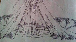 Le pidió a su amiga que le hiciera el vestido de novia y se llevó una decepción