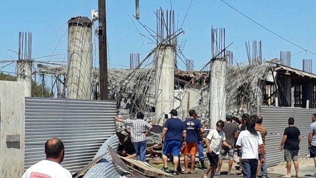 Identificaron a los 6 muertos del derrumbe en la obra en construcción en Santa Teresita