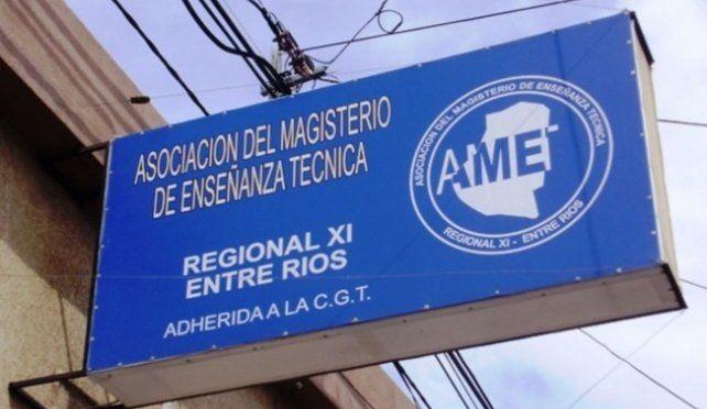 AMET resolvió no hacer paro en Entre Ríos, pero podría adherir a una medida nacional
