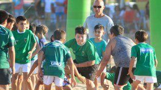 Los chicos del Rugby de Tilcara arrancaron en la arena