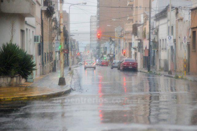 La probabilidad de lluvia en Paraná es del 50% a las 10. Foto UNO Archivo.