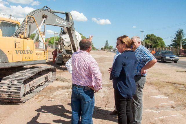 Paraná - Oro Verde: El avance de la doble vía sobre la ruta 11 es del 40%